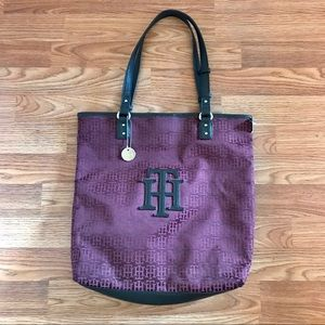 Tommy Hilfiger tote, great condition!